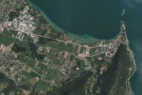 Nouvelle orthophoto 2020 sur la Haute Savoie