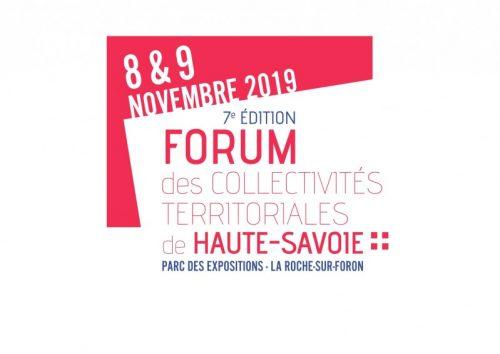 Retrouvez-nous au Forum des Collectivités Territoriales les 8 et 9 novembre